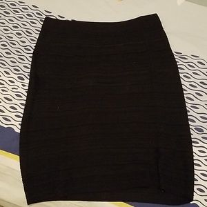 Black pencil skirt stretchy from WHBM